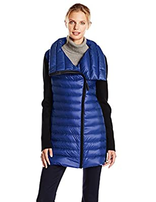 Calvin Klein Performance Women's Asymmetric-Zip Down-Filled Puffer Coat