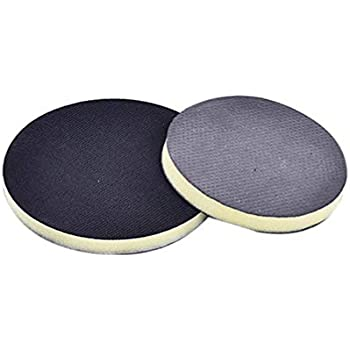 Vosarea 6 Pneumatic Durable Clay Pad for Polisher Clay Disc Clay Bar Wipe Foam Pad DA Polisher Pad for Car Detailing Novel Detailing Tool Detailing Kit Black