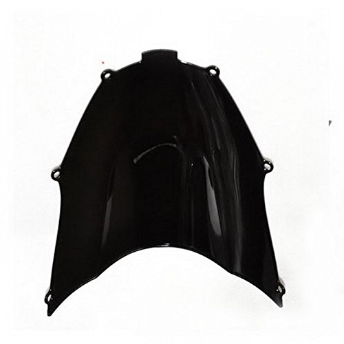 Liquor For Kawasaki ZX9R 2001-2003 2002 Motorcycle Black Dark Smoke Windscreen Windshield