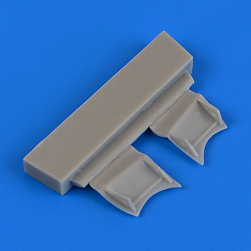 Quickboost 1:72 F4F-4 Wildcat Undercarriage Covers for Airfix - Resin #QB72-527