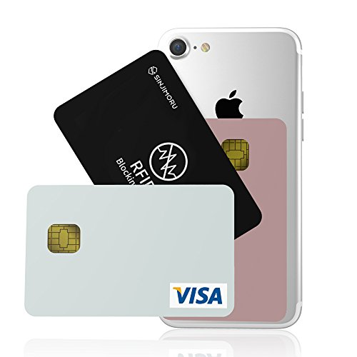 RFID Blocking Card by SINJIMORU. RFID protector for unauthorized credit card payments, Identity Theft Protection for Credit cards. The Ultimate RFID Blocking Solution for credit information.