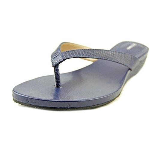 Style & Co. Haloe, Flip Flops Frauen, Offener Zeh, leger Blue Depth