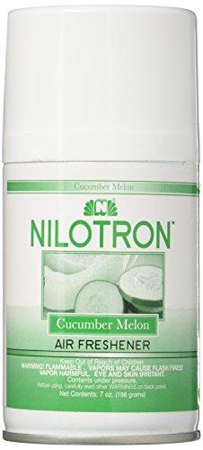 Nilodor Automatic Aerosol Deluxe Dispenser Refill, 7-Ounce, Cucumber-Melon