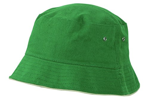 Fisherman For Cotton Sun Bob beige Senderismo Beach Oscuro Camping Hat 2store24 Verde wZSOqnx6I