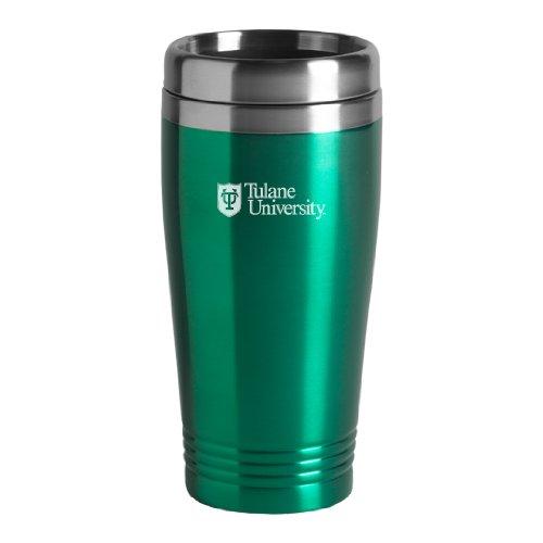 Tulane University - 16-ounce Travel Mug Tumbler - Green