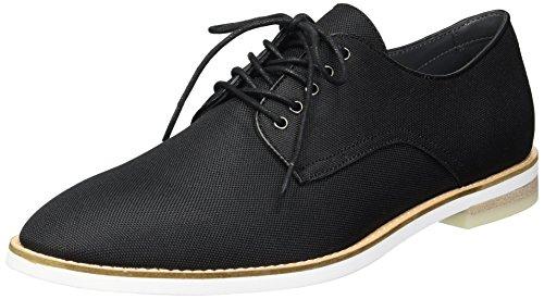 Oxford Nylon - Calvin Klein Men's Atlee Ballistic Nylon Oxford, Black, 11.5M M US