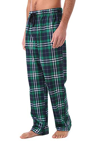 - Somnia&Restease Mens Pajama Pants Set Bottoms(M) Green