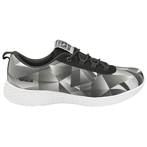 Fitness Women's Gola Black Shoes Grey Izzu rzrxgwE