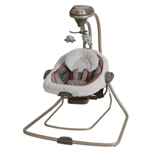Graco DuetConnect LX Swing + Bouncer, Finley by Graco
