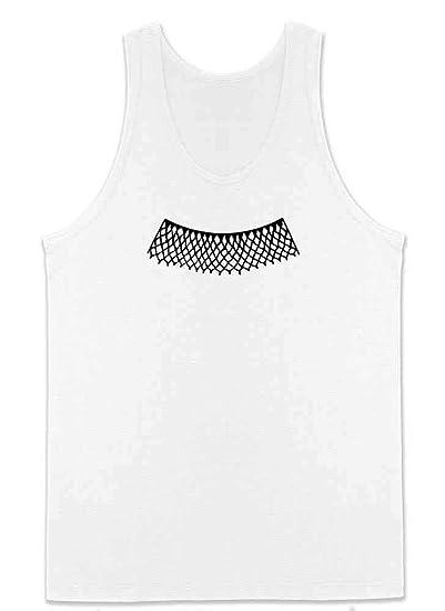 a7dc087e32b940 Amazon.com  RBG Lace Jabot Collar Supreme Court Justice Mens Tank Top   Clothing