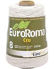 Euroroma E700.8.100, Barbante Cru 4/8 Fios Rolo, Multicolor