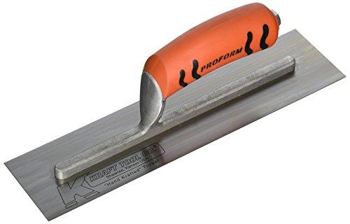 - Kraft Tool CF211PF Cement Trowel with ProForm Handle, 12 x 3-Inch