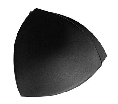 2015 Newest Style Air Sports Sexy Bra Pads Insert Underwear Triangle Round (M, - Black Round Cup