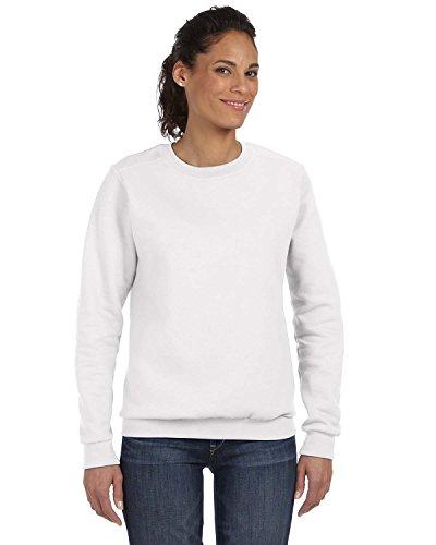 Anvil Womens Combed Ringspun Fashion Fleece Crew Neck Sweatshirt (71000L)