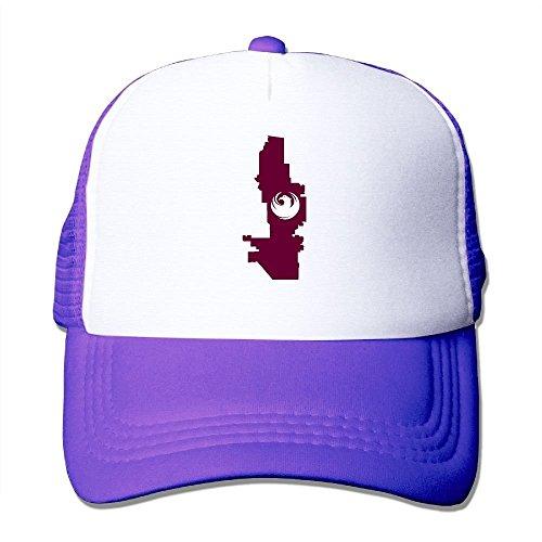 Flag Map of Phoenix Unisex Fitted Mesh Hat Baseball Caps Black