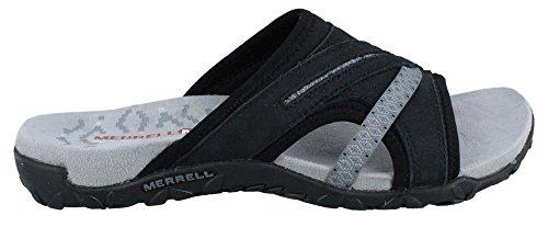 Merrell Women's Terran Slide II Sandal, Black, 10 M US by Merrell