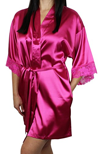Womens Kimono Bridesmaid Sleeves Pockets product image