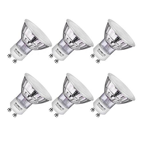 - SHINE HAI GU10 LED Bulbs 40W Halogen Equivalent, 3.5W, 120V, 5000K Daylight White Non-Dimmable LED Spotlight MR16 GU10 Base, 6-Pack