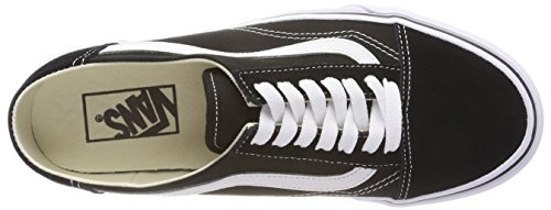Old Sneaker White Skool Damen 6bt Mule Black True Schwarz Vans AqwIpx