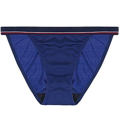 Rey&Qing Les Filles Sous-Vêtements Femmes Pantalons À Rayures Verticales Sans Couture Entrejambe Bas Coton Taille Dame Mémoires