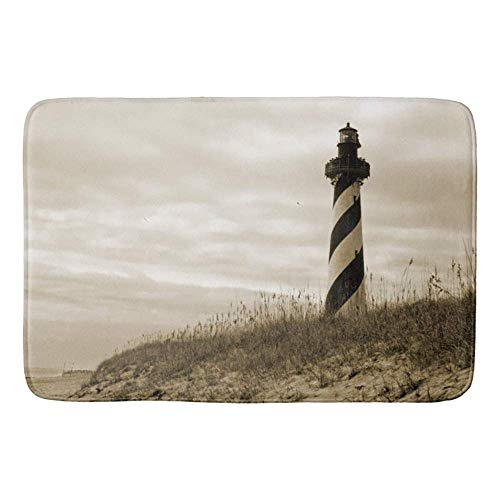 Cape Hatteras Lighthouse Bathroom Mat Kicthen Rug -