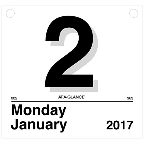 AT-A-GLANCE Wall Calendar Refill 2017, Today Is, Daily, 8-1/2 x 8