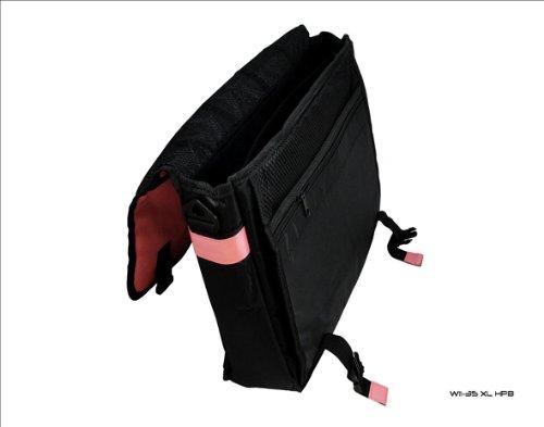 Baby Pink & Schwarz Messenger-Tasche für Toshiba Portege R830Z830Z835Laptop jPPM1Pox