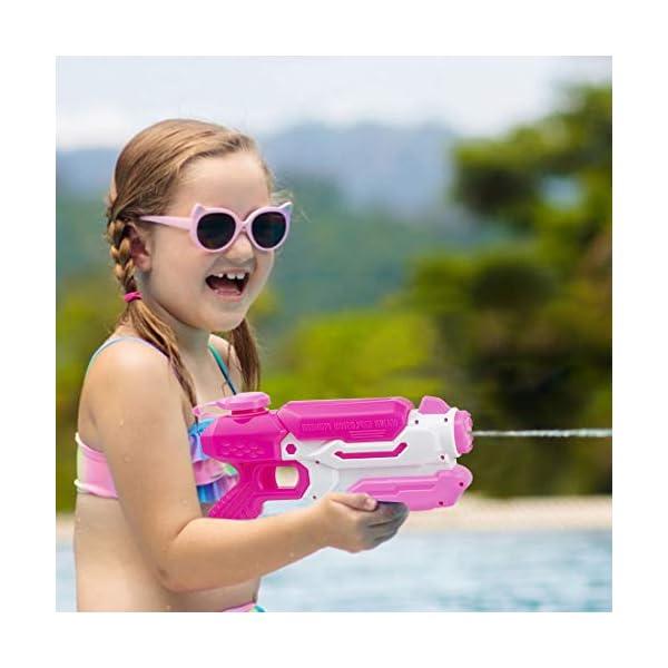 O-Kinee Pistole ad Acqua Giocattolo Blaster Acqua Outdoor Water Blaster per Spiaggia, Piscina e Giochi all'Aperto Ottimo… 4 spesavip