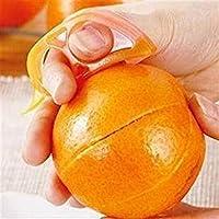 Generic Orange Ouvre Eplucheur Trancheur Cutter plastique Citron agrumes Peau Remover