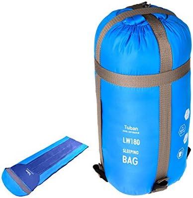 lokep portátil Ultra-light al aire libre Ultra suave sobre con capucha Saco de dormir con bolsa de compresión para viajes senderismo Camping para adultos ...