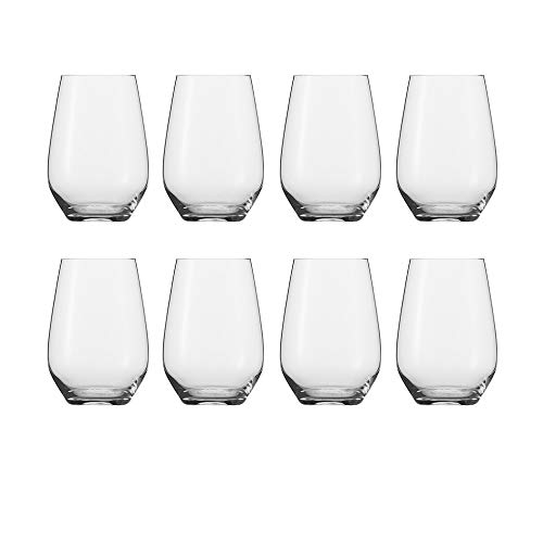 Schott Zwiesel Tritan Crystal Glass Stemware Cru Classic Collection (Universal Stemless (18.6oz)- Buy 6, Get 8)