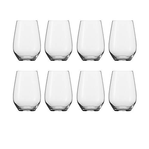 Schott Zwiesel Tritan Crystal Glass Stemware Cru Classic Collection (Universal Stemless (18.6oz)- Buy 6, Get 8) (Glasses Wine Buy Stemless)