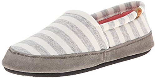 Women's Cleaner Oxy Bundle Stripe Acorn Stripe Slippers Summerweight MOC White amp; aqqZHgP
