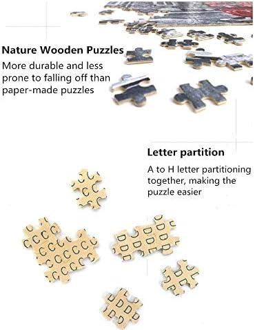 JIADUOBAO-puzzel 300/500/1000 stukken Adult puzzel Houten puzzel Klimt Olieverf Kinderen educatief speelgoed Modern Home Decoration Unieke Gift JIADUOBAO-puzzel ( Size : 300pcs ) d6HQB5bM