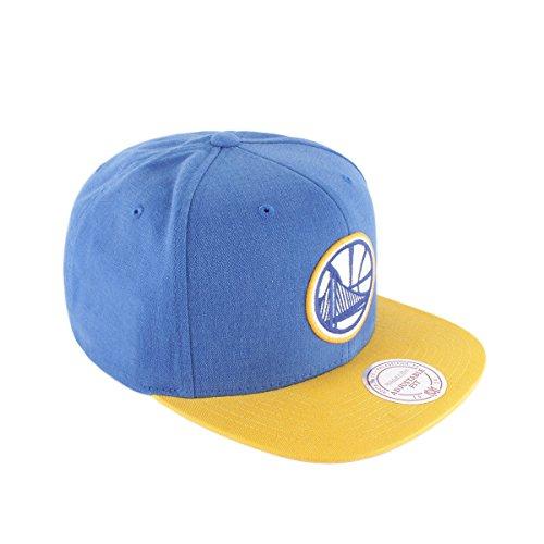 Golden Yellow Mitchell de Blue Ness Real Azul Gorra amp; Amarillo Warriors State wqOnBA