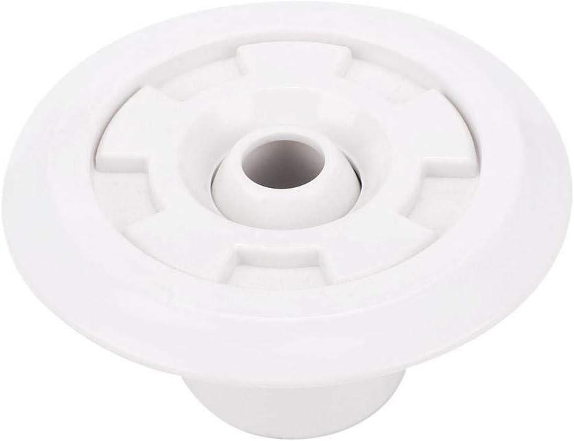 TOPINCN Accesorios para boquillas para Piscina Boquilla giratoria con Chorro de plástico Masaje Sprinkler Salida Agua diseño SPA Piscinas Termales