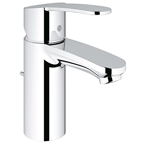 an Centerset Single-Handle Single-Hole Low Arc Bathroom Faucet - 1.5 GPM (Grohe Brass Faucet)