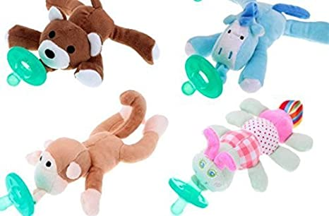 Pw Surplus Super Cute Animal - Chupete 2 Pack, Chupete de ...