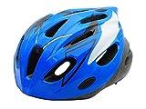 BeBeFun Safety Adjustable Size Kids Helmet for Boy Child Kid Skating Biking Mini Bike Riding Multi-Sports Lovely Helmet 3-7 Years Old Lighting Theme (Blue &White) For Sale