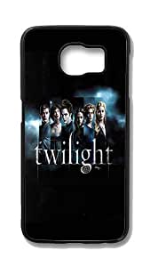 Samsung Galaxy S6 Edge Customized Unique Hard Black Case Twilight Cast Case S6 Edge Cover PC Case