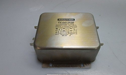(Schaffner FN 660-20/06 RFI Power Line Filter)