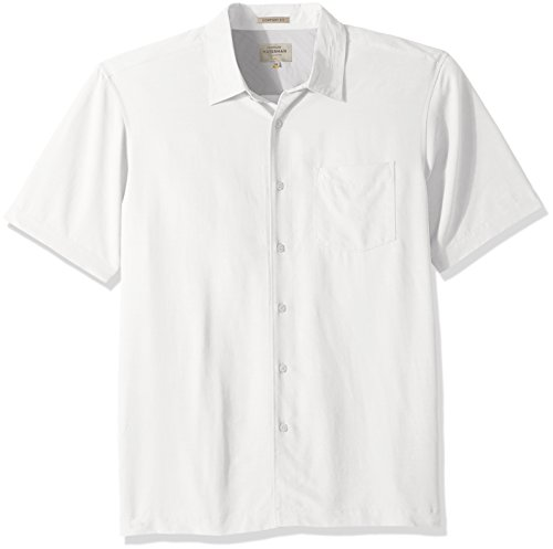 Quiksilver Shirt Up Button - Quiksilver Waterman Men's Clear Days 4, White XL