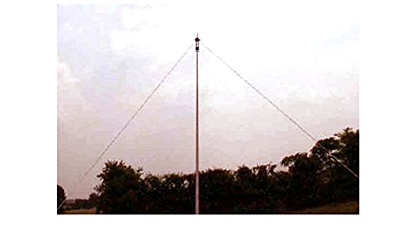Antena dipolo hilera full size banda 160 1,8 m, 80 m-PKW ...