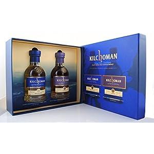 KILCHOMAN Gift Set 1xMachir Bay 0,2L + 1x Sanaig 0,2L je 46%Vol Islay Single Malt Whisky