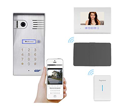 GBF Smart Four Wire Door Phone/ Doorbell (Four Wire Intercom System) ()