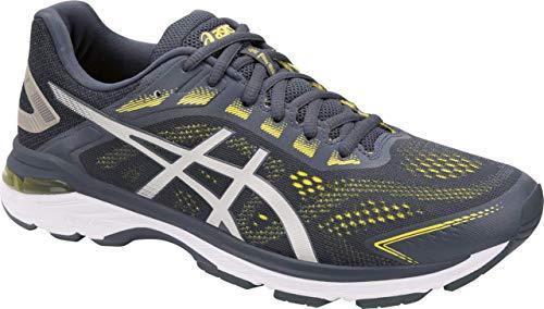 ASICS GT-2000 7 Men's Running Shoes, Tarmac/Lemon Spark, 10.5 W US