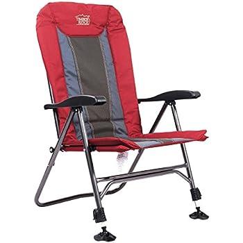 Amazon Com Timber Ridge Camping Chair Folding Heavy Duty