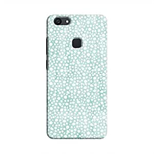 Cover It Up - Blue Pebbles Mosaic V7 Plus Hard Case