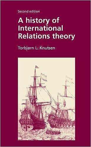 History of International Relations Theory: Torbjorn L  Knutsen