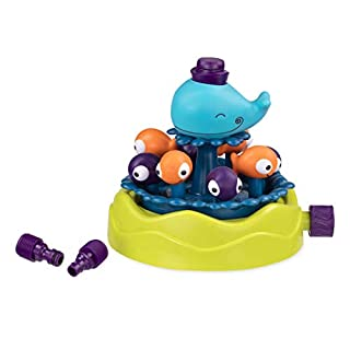 B. toys by Battat B. Toys – Whirly Whale Sprinkler – Summer & Water Toys for Kids – 2 Years +